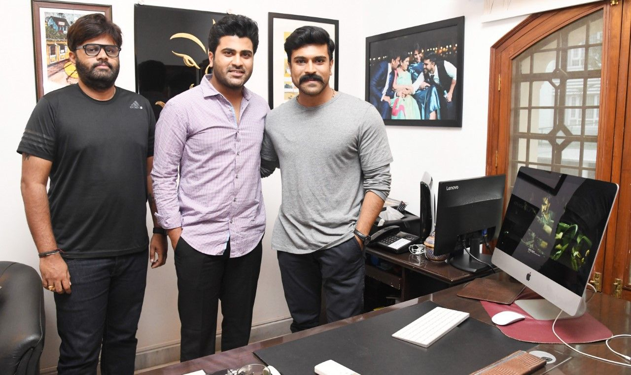 Ranarangam Sound Cut Trailer Launch by Mega Power Star Ram Charan