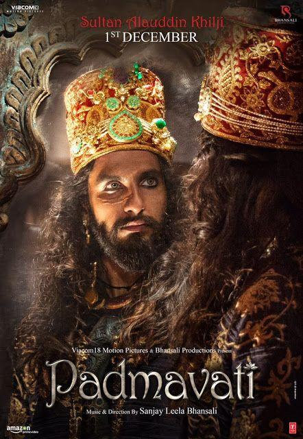 Ranveer Singh as Sultan Alauddin Khilji New Posters in Padmavati