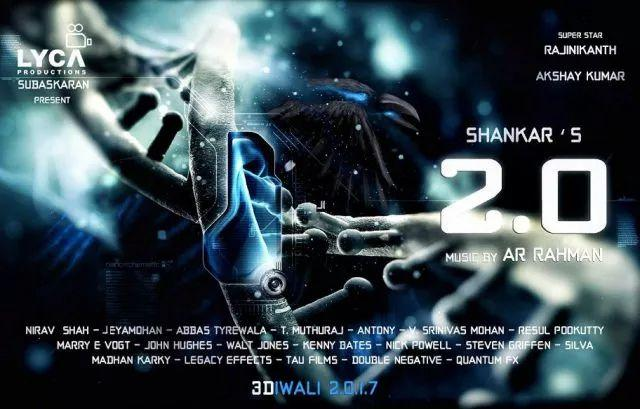 Robot 20 Movie Latest Posters