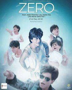 Sharukh Khan Zero Movie Posters