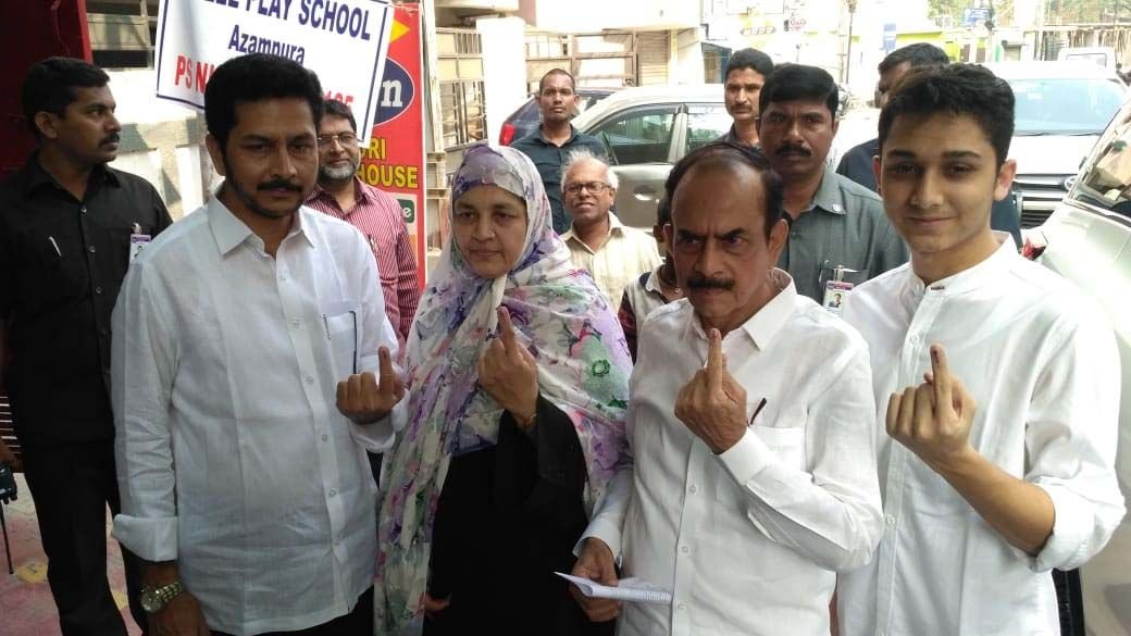 Telangana Polling Celebrities Pics