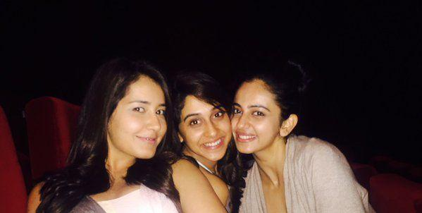 Tollywood Actresses Unseen Bonded Over Selfies Photos