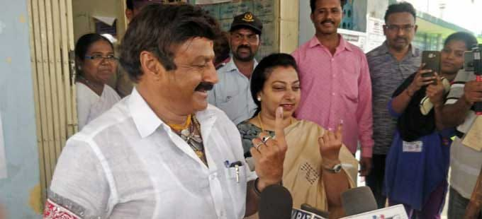 Tollywood Celebrities Vote Casting Photos