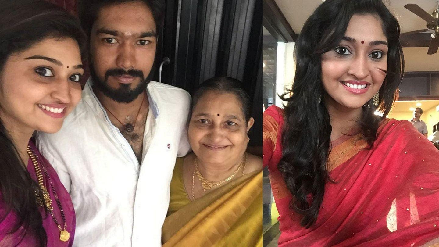 Unseen Photos: Famous Tamil Serial Actress With Real Life Husband
