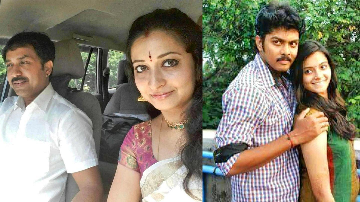 Unseen Photos: Famous Tamil Serial Actress With Real Life
