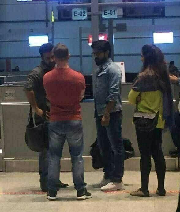 Viral Photos: Young Tiger NTR & Mega Powerstar RamCharan snapped at airport