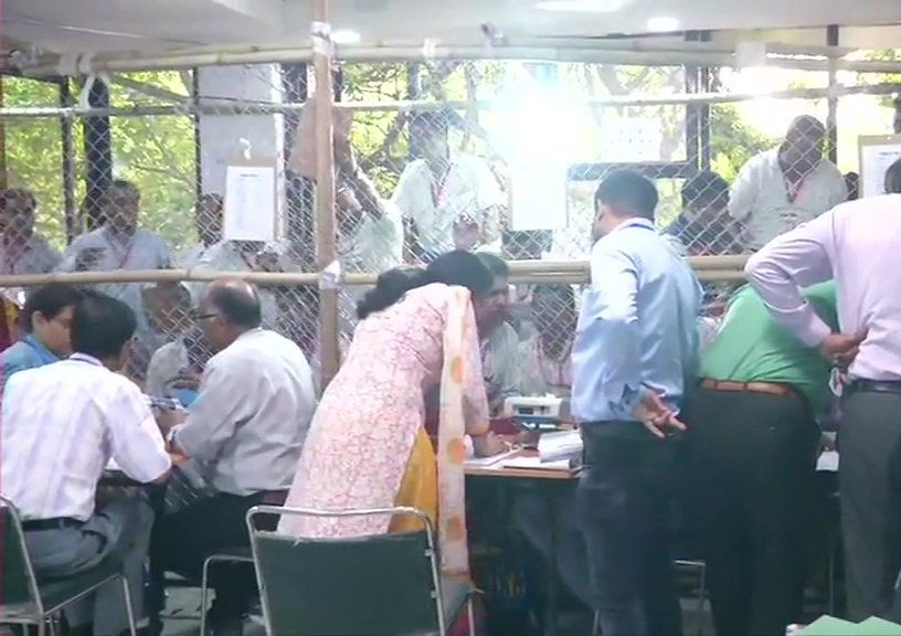 Vote counting underway at Siri Complex