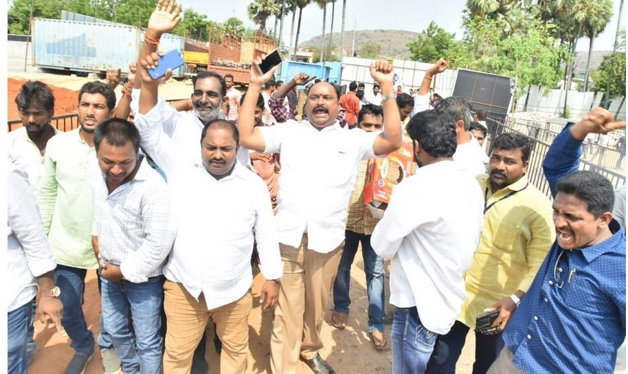 YCP Party Workers Celebrations
