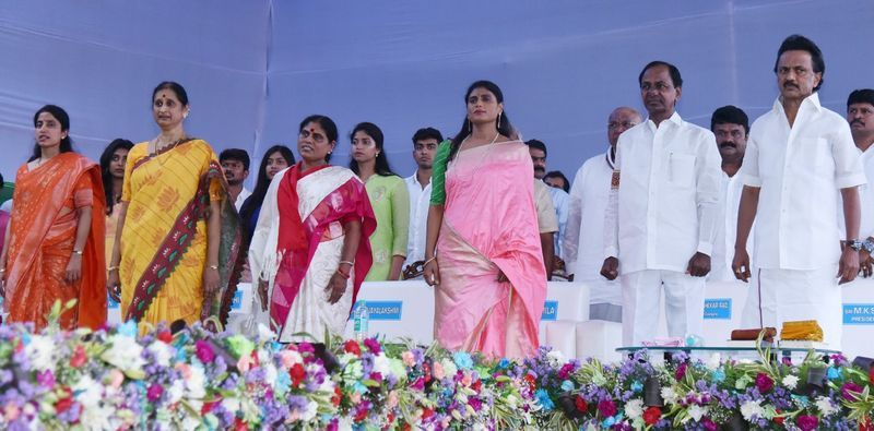 YS Jagan Swearing in Ceremony Pics
