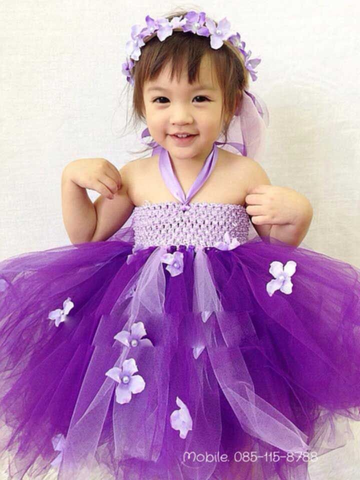 Pictures Of Cute Babies With Purple Dress Kidskunstinfo