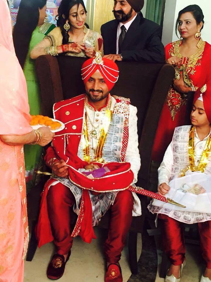 Marriage images of harbhajan singh house