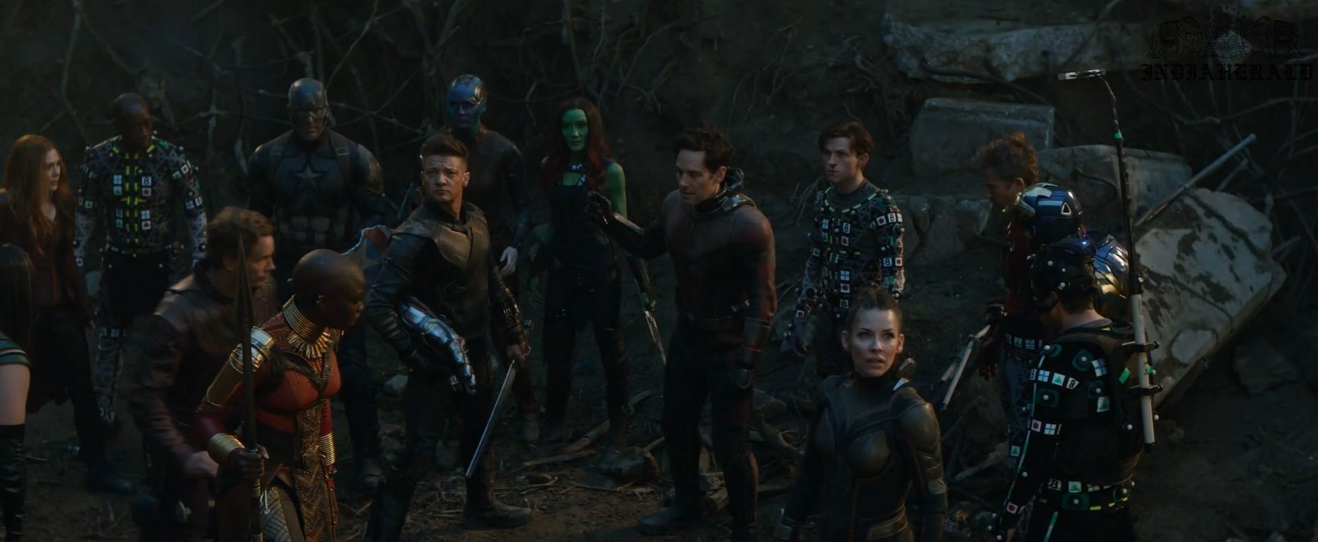 India Herald Exclusive Unseen BTS Photos Of Avengers Endgame Set 1