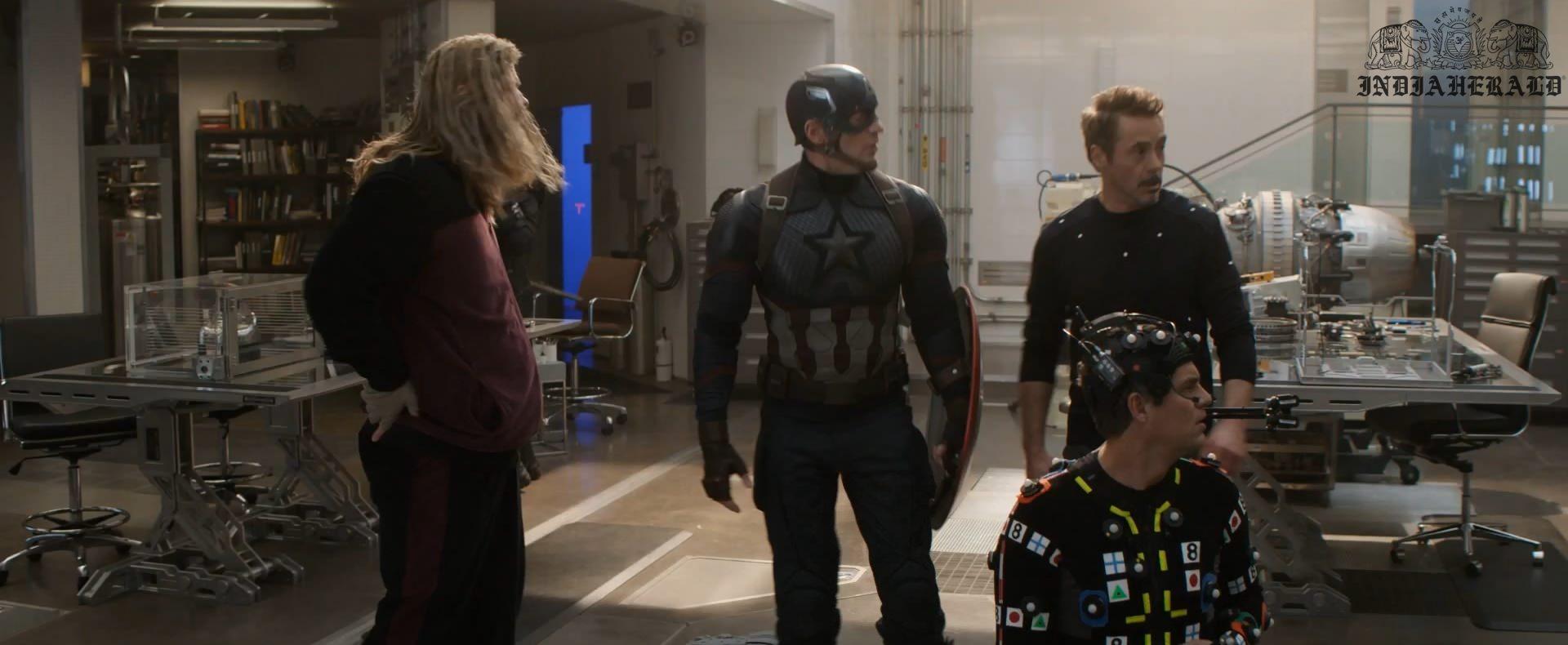 India Herald Exclusive Unseen BTS Photos Of Avengers Endgame Set 3