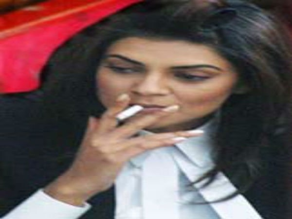 Rare Photos Of Indian Actress Caught Smoking On And Off Screen