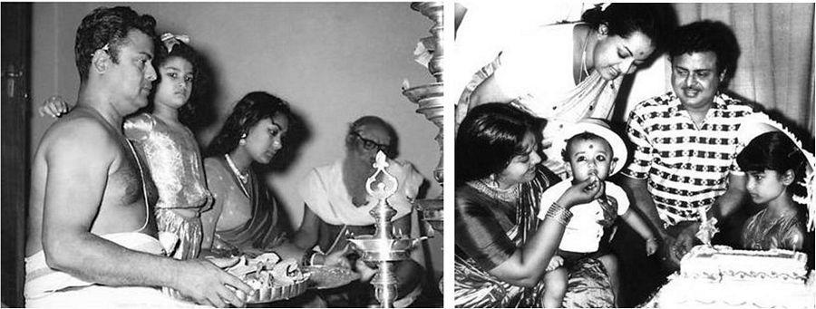 Actress Savitri Husband Gemini Ganesan Unseen Pics: Telugu Veteran Actress Savithri Rare Stills