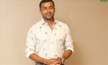 Actor Suriya Interview Stills For Bandobast Set 1