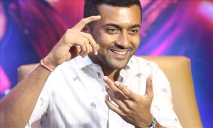 Actor Suriya Interview Stills For Bandobast Set 3