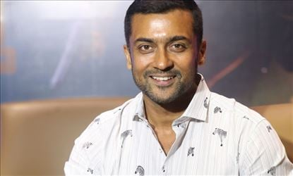 Actor Suriya Interview Stills For Bandobast Set 5