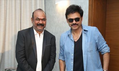 Actor Venkatesh Stills with Hero Nataraj Set 2