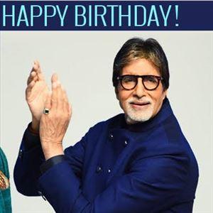 Happy Birthday Lengendary Amitabh Bachchan