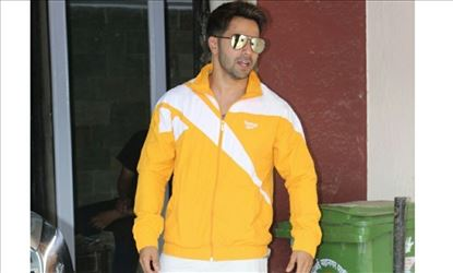 Varun Dhawan Seen Outside A Gym