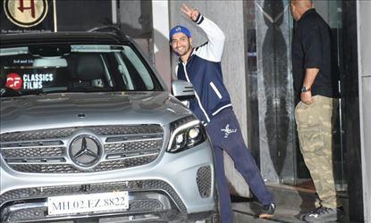 Varun Dhawan Spotted Outside In Andheri