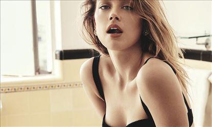 Amber Heard Hot Exposure For GQ Australia Magazine Set 1