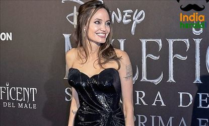 Angelina Jolie at the European Premiere of Maleficent Mistress of Evil in Rome Set 1