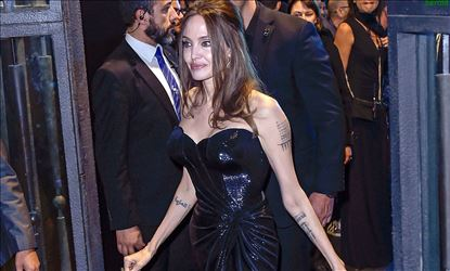 Angelina Jolie at the European Premiere of Maleficent Mistress of Evil in Rome Set 2