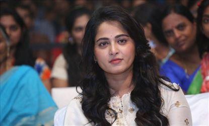 Anushka Stills At Bhaagamathie Movie Pre Release Event