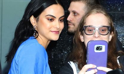 Camila Mendes On The Way to Good Morning America Show in NYC Set 2