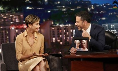 Charlize Theron at Jimmy Kimmel Live Show