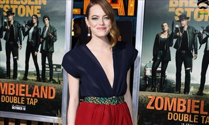 Emma Stone at Zombieland Double Tap Premiere in Westwood CA Set 1