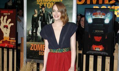 Emma Stone at Zombieland Double Tap Premiere in Westwood CA Set 4