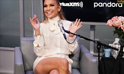 Jennifer Lopez At SiriusXM Studios In NYC Set 4