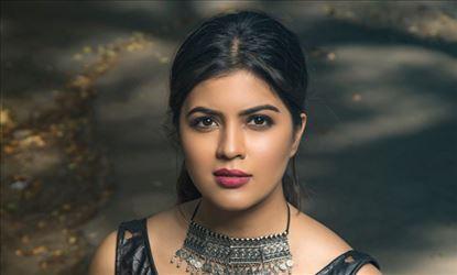 Kaali Movie Actress Amritha Aiyer Recent Photoshoot Stills