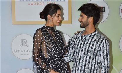 Krithi and shahid kapoor images