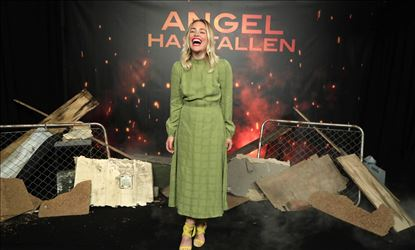 Piper Perabo At Angel Has Fallen Photocall Event