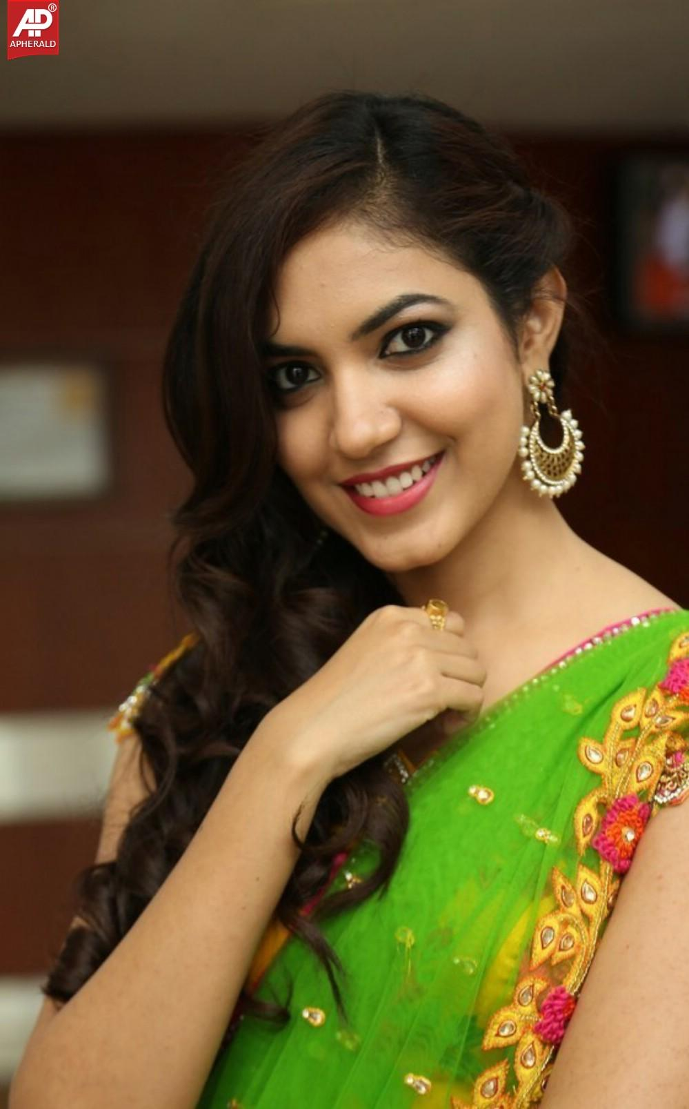 ritu varma cute stills half saree