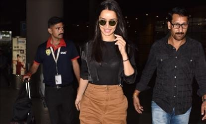 Shraddha Kapoor Exposes Her Inner Wear In A Transparent Top And Snapped At Mumbai Airport
