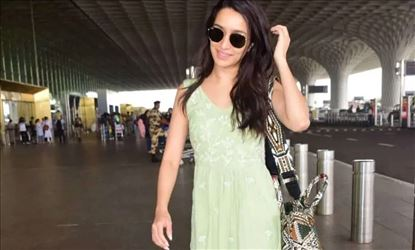 Shraddha Kapoor Spotted At Mumbai Airport In Sleeveless Casual Frock
