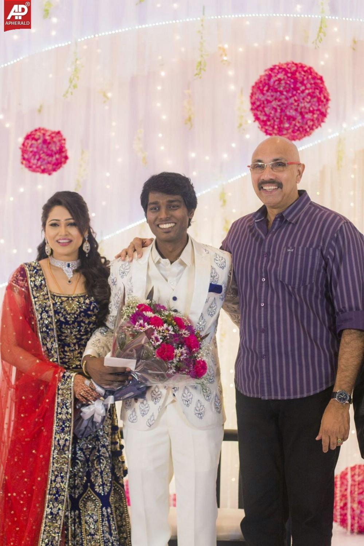 atlee krishna priya marriage reception