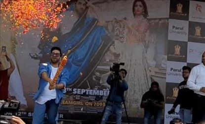 Ayushmann Celebrates Dahi Handi At A College In Vadodara