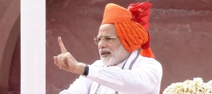 LIVE: PM Modi at 72nd Independence Day Celebrations at Red Fort