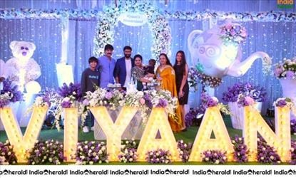 Gopichand Younger Son Viyaan 1st Birthday Celebrations