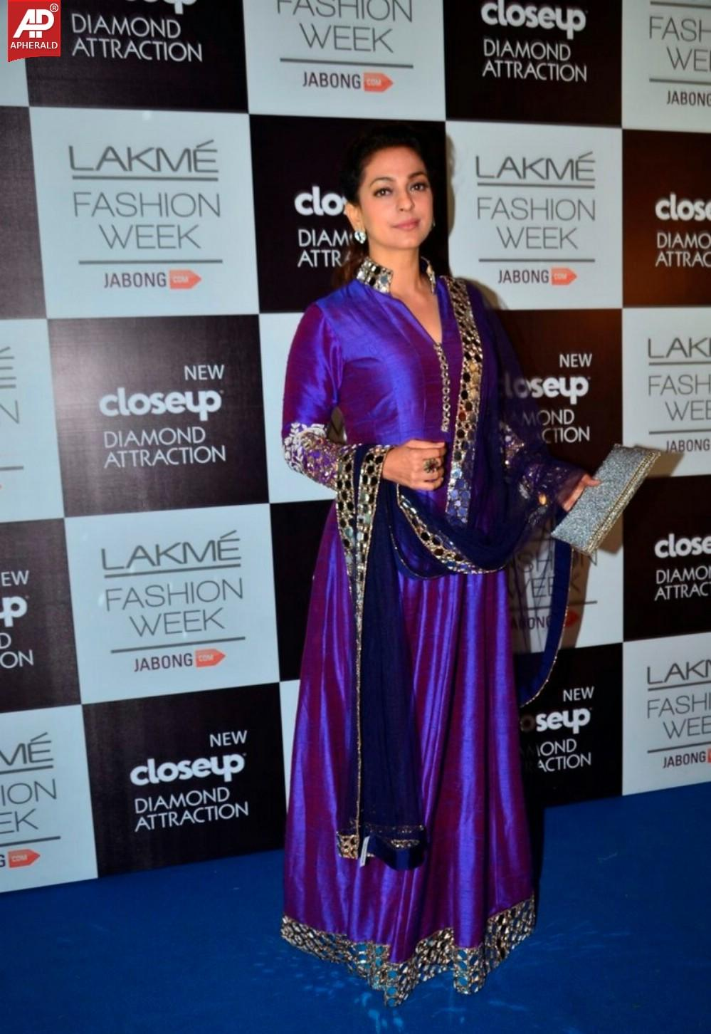Bolly Celebs at Grand Finale Day Of LFW Winter Festive 2014