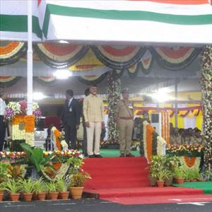 LIVE: AP CM Chandrababu Participates in 72nd Independence Day Celebrations