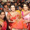 Mehreen Kaur & Rashi Khanna Inaugurates KLM Fashion Mall In Nellore Photos