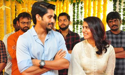 Naga Chaitanya & Samantha New Movie Opening Ceremony Photos