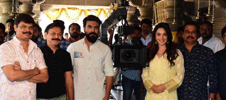 Ram Charan & Boyapati Srinu New Movie Launched Photos
